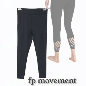 Free People Movement Over the Moon Yoga Legging, Black, Size M