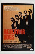 Reservoir Dogs Autograph Signed 12 x 18 JSA COA Michael Madsen