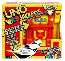 New Uno - Uno Wild Jackpot DNG 26 From Japan Free Shipping F/S