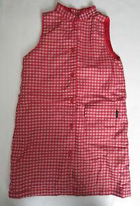 Paul Smith Girls Red check sleeveless Dress- Age 5/6 Years