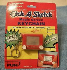 Etch A Sketch Key ring / Key Chain Toy  Retro Mini Shake To Erase Ohio Art