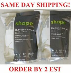 2 x ViSalus Body By Vi Shape Weight Loss Diet Protein Shake Mix Meal Replacement