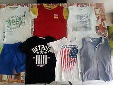 lotto 604 stock abbigliamento magliette bimbo bambino 3/4 anni