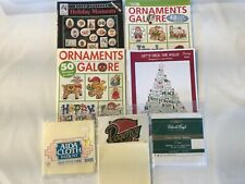 Assorted Lot of Cross Stitch Leaflet Books Mixed Themes