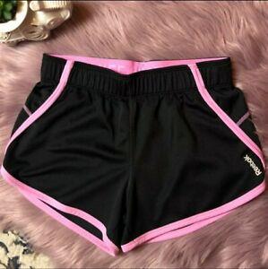 Reebok  Womens Gym Training Shorts black/pink