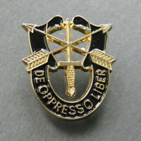 Special Forces DE OPPRESSO LIBER Lapel Pin 1 INCH