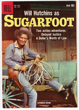 SUGARFOOT # 3 FOUR COLOR #  1059 1960 WILL HUTCHINS Dell TV Western VFN++