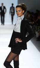 Zang Toi  Wool Stripe  Blazer and Short Sz:Small Retail $5,600 NEW