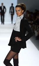 Zang Toi  Wool Stripe  Blazer and Short Sz:Small Retail $5,600 NEW