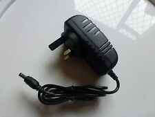 12V 2A (24W) AC DC UK 3 Pin Power Supply for LED Strips etc