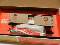 Train Miniature HO Vintage NIB Kit,Frisco Fast Freight Wood Boxcar NIB