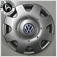 1x Original VW Radkappe New Beetle 16 Zoll brilliantsilber - 1C0601147D HRN