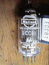 ECC81 12AT7  Mullard Mottled Glass   New Old Stock Valve Tube 1PC