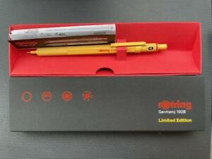 rotring 600 Japan limited edition color yellow Mechanical pencil 0.5mm