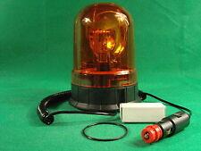 Rundumleuchte Warnleuchte Signalleuchte Orange12V 24V  Magnetfuss incl. Leuchtm.