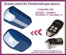 Compatible Télécommande pour Chamberlain ML550EV / ML800EV Ouvre-porte de garage