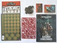 Rogue Trader Kill Team 40K  Elucidian Starstrider (10-Mini )with Cards+Book  NOS