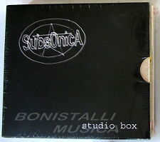 SUBSONICA - STUDIO BOX - Box 5 CD Sigillato