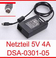 5V 4A BLOC D'ALIMENTATION 4 BROCHES FICHE DSA-0301-05 WPN 770340-02 SP310026-001