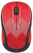 Logitech M325c Wireless Mouse RED ZIGZAG (NO RECEIVER) (IL/RT6-677-910-004449...