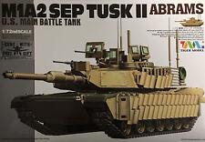 Tiger Models - 1/72 M1A2 SEP TUSK II Abrams U.S. Army - TIG-9601