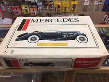 Pocher Mercedes 500K-AK 1935 Cabriolet 1/8 Scale model kit #K74