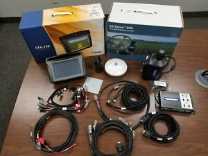 TRIMBLE CFX 750 Display w/ Ag25 Antenna & EZ Steer Steering System     FAST SHIP