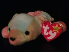 TY SAMMY THE BEAR BEANIE BABY 1999 RETIRED NO # ON TUSH TAG DIFFERENT DATES