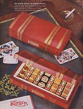 PUBLICITE ADVERTISING 064 1959 KOHLER chocolat un double plaisir