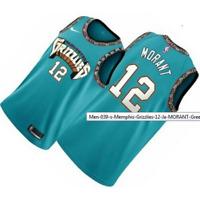 Men's Memphis Grizzlies 12 Ja- MORANT Green 2020 Jersey