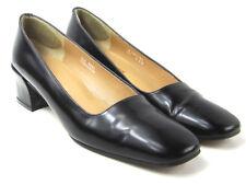 RALPH LAUREN Spain Black Patent Leather Pumps Size 9 AA RLz 6697 Narrow