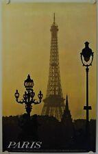 Affiche Tourisme France PARIS - Ann.'60  Imp. Helio Cachan