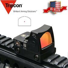 Mini RMR Red Dot Sight Adjustable Collimator Glock Handgun Reflex Scope fit 20mm