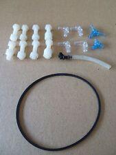 Protein Skimmer Plastic Screws 8 Pcs & 9cm washer/ O Ring fits AquaSonic Skimmer