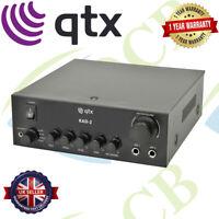 QTX KAD-2 55W Compact 2 channel DIGITAL STEREO Monitor Speaker Amplifier
