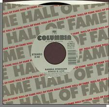 "Barbra Streisand - Woman in Love + Run Wild - Columbia 7"" 45 RPM Single!"