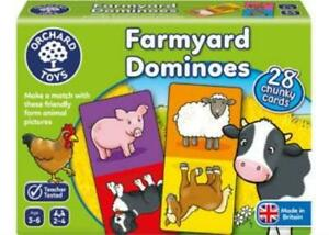 Farmyard Dominoes Game Orchard Toys OC006