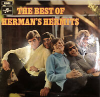 "The Best Of Herman's Hermits (SX 6332) 12"" LP EMI 1969 VG+/VG+"