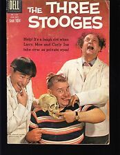 4-COLOR  THREE STOOGES #1127  DELL 1960 VG MOVIE/TV - PHOTO-c, LARRY,MOE,CURLY