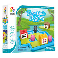 Smartgames Three Little Piggies - Kids Logic puzzle game