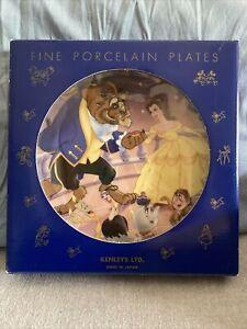Beauty And The Beast - Fine Porcelain Plate - KENLEYS LTD. - Disney
