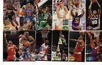 1994-95 FLEER BASKETBALL NBA JAM SESSION LOT OF 12 CARDS KARL MALONE GAMEBREAKER