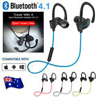 Bluetooth 4.1 Wireless Headset Sport Headphone Earphone iPhone Samsung Android