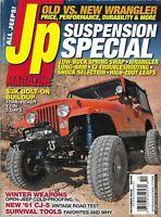 Jeep Magazine Suspension Special Wrangler Bolt-On Buildup Survival Tools 2013