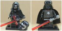 Star Wars Film Toys Darth Vader & Kylo Ren Jedi Mini Figures Use With lego sets