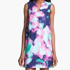 NWT $398 Kate Spade Keri Simply Cinema Abstract Floral Print Dress Size 8