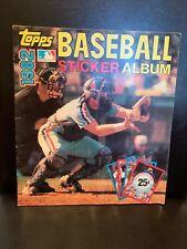 Topps MLB Sticker Book 1982 PB