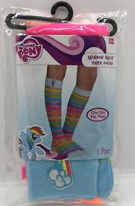 New My Little Pony Rainbow Dash Knee Socks One Size Fits Most