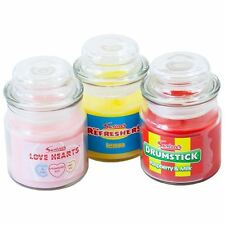 Swizzels Sweet Shop Candle Jars 3 Classic Candy Fragrances