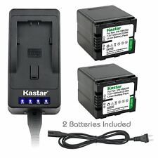 VW-VBN260 Battery & Super Fast Charger for Panasonic HC-X910 X920 X920M X800